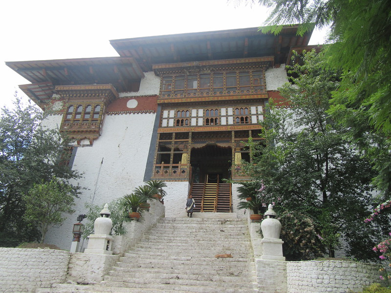 281_Punakha Dzong (Monastery-Fortress)  The most beautiful dzong in the country