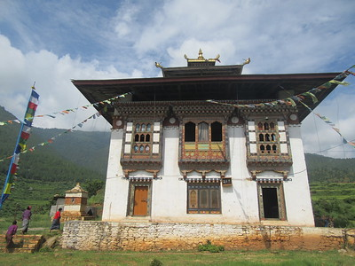 348_Wangdue Valley  Newari Village