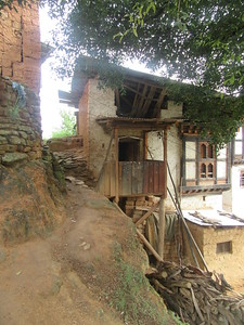 339_Wangdue Valley  Newari Village