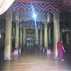 309_Punakha Dzong  The hundred-pillar Assembly Hall, has really 54 pillars
