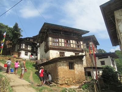 332_Wangdue Valley  Newari Village