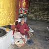 145_Thimphu  The National Memorial Chorten  Hand-held Prayer Wheel