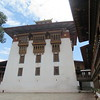 295_Punakha Dzong  The golden-domed central tower (utse) is six-storey high with temples on each floor