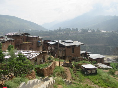 346_Wangdue Valley  Newari Village