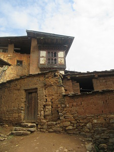 340_Wangdue Valley  Newari Village