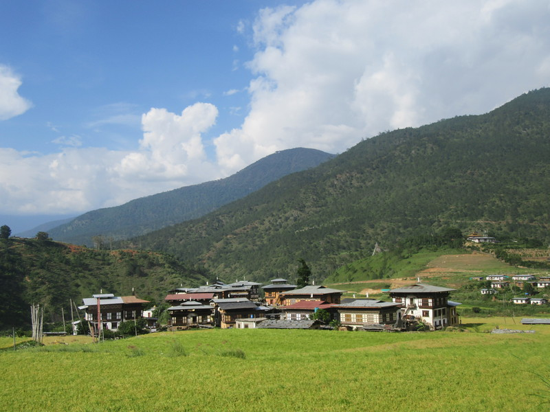 241_Punakha Valley  Insight into a medieval way of life that has changed little over the centuries