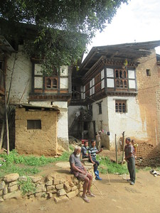 337_Wangdue Valley  Newari Village