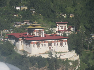 023_Paro Valley  Rinpung Dzong (Monastery-Fortress)  17th Century  To defend the valley against Tibetan invaders