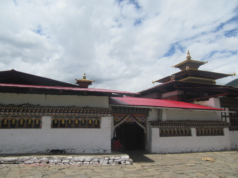 086_Upper Paro Valley  Kyichu Lhakhang  A twin-temple complex  Look almost identical but built thirteen centuries apart