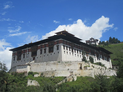 054_Paro  Ta Dzong (National Museum) and Rinpung Dzong (Monastery-Fortress)