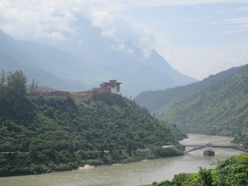 324_Wangdue  Dzong (Monastery-Fortress)  Built in 1638  Destroyed by fire in 2012