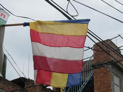034_Bungamati  Buddhism Flag