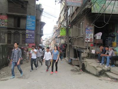 010_Kathmandu  Thamel district