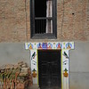 070_Karyabinayak Municipality  The Door Contour with a White decoration, means a Wedding took place here recently