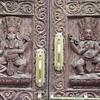068_Karyabinayak Municipality  Ganesha (always with an animal, rat like) and Newar, are brothers  Always represented together
