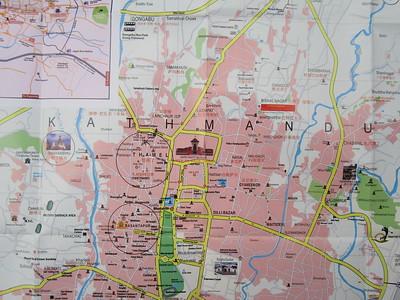 009_Kathmandu  Map