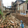 024_Bungamati  Aftermath of the April 2015 Earthquake  Crumbled because the addition of buildings, took away the inner courtyard