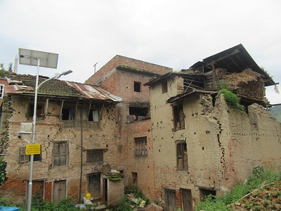 023_Bungamati  Aftermath of the April 2015 Earthquake  Crumbled because of low maintenance