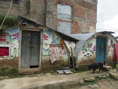 038_Bungamati  Aftermath of the April 2015 Earthquake  Shelter Housing