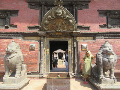 092_Patan Museum  Keshav Narayan Chowk  One of the royal palaces of the former Malla kings of the Kathmandu Valley