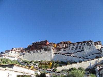 158_Lhasa  Potala Palace  Covering an area of 360,000 square meters