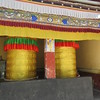 185_Lhasa  Gyudmed Tantric University  Room-size Prayer wheels