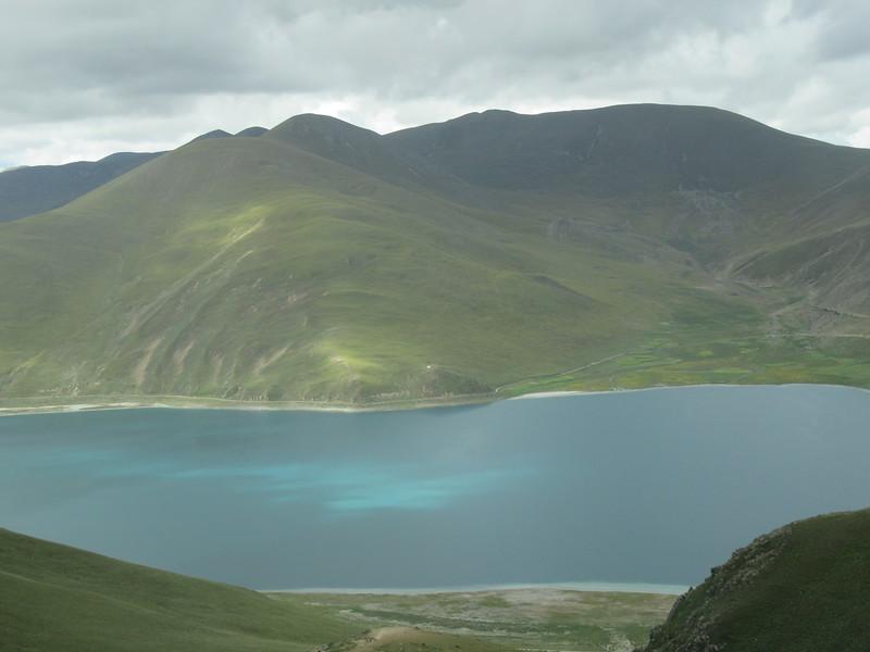 249_Yamdrok Lake  Deep-blue  One of Tibet's sacred lakes
