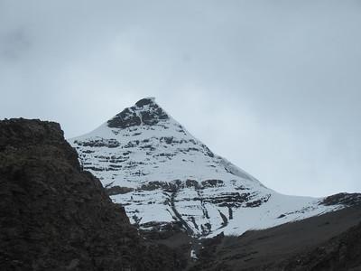 258_Between Lhasa and Gyantsé  Via Yamdrok Lake  On  either side are gigantic peaks including 7260 m high Nazin Kang Sa