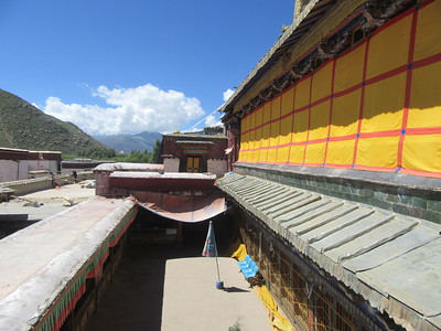 034_Samye Monastery  Before the 1952 Revolution, used to house Thousands of monks  Now 190