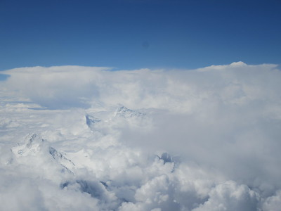005_Tibet  The great Himalayan range  Everest, Makalu, Kanchenjunga and Lhotse