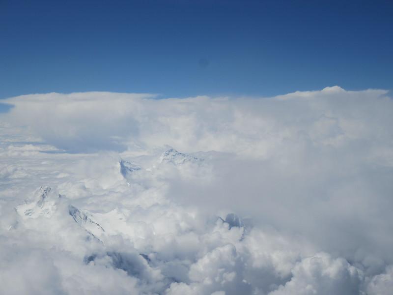 005_Tibet  The great Himalayan range  Everest, Makalu, Kanchenjunga and Lhotse