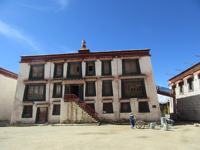 028_Samye Monastery  Monks House