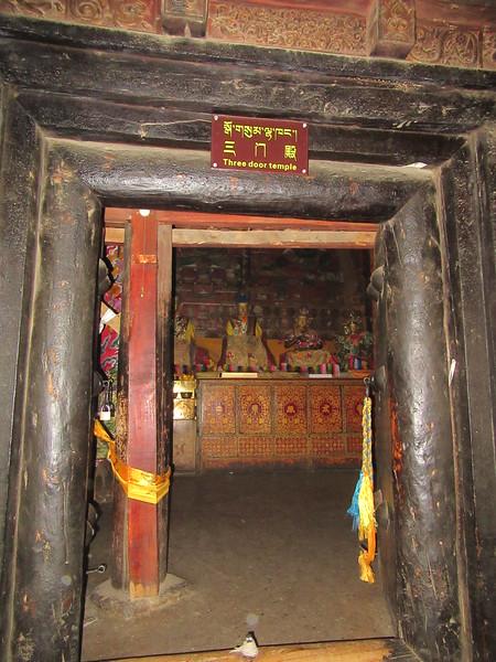 345_Shalu Gompa (Monastery)  The Three Door Temple
