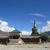 029_Samye Monastery  The Complex is surrounded by 4 Stupas and 8 Chapels