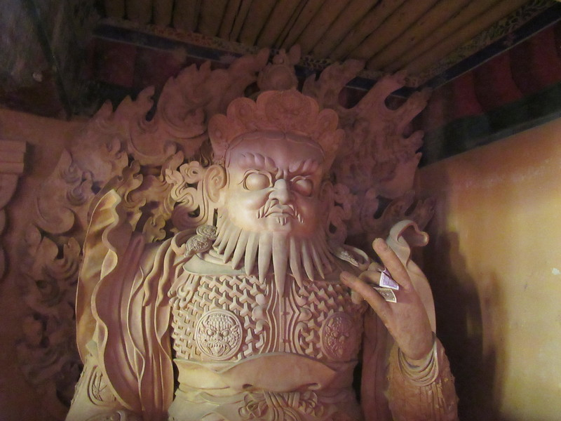 071_Dradruk Gompa  Protector deity  Can manifest themselves in ietheir male or female forms and serve to protect Buddhist teachings and followers