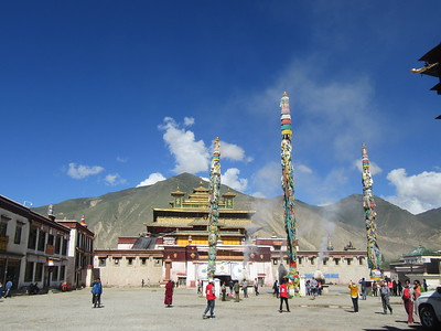 030_Samye Monastery  A huge complex  8th century