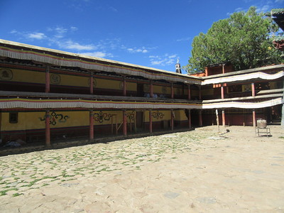 340_Shalu Gompa (Monastery)  Butön established a powerful tradition of the Kalachakra Tantra (the wheel of time)