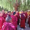 036_Samye Monastery  Monks debatting