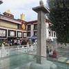 213_Barkhor Square  The ¨Uncle-Nephew Alliance Tablet¨   A Sino-Tibetan treaty  822  Front of the Jokhang Temple