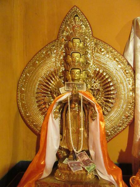 456_Drolma Lhakhang (Tara Temple)  Buddha of Compassion (multi-head)