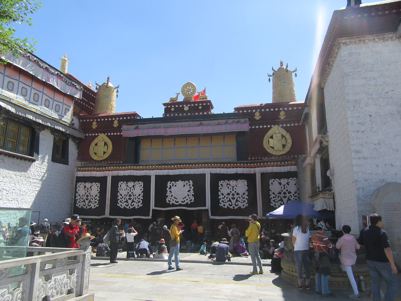 217_Lhasa  Old Town  The Jokhang Temple  Built in the 7th century AD and later extended by successive rulers
