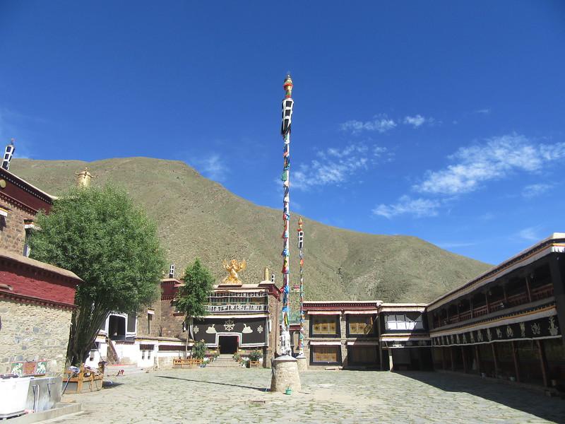 087_Mindroling Monastery  Terdag Lingpa (XVII c ), the great tertön (treasure finder) of the Nyingma (older) school