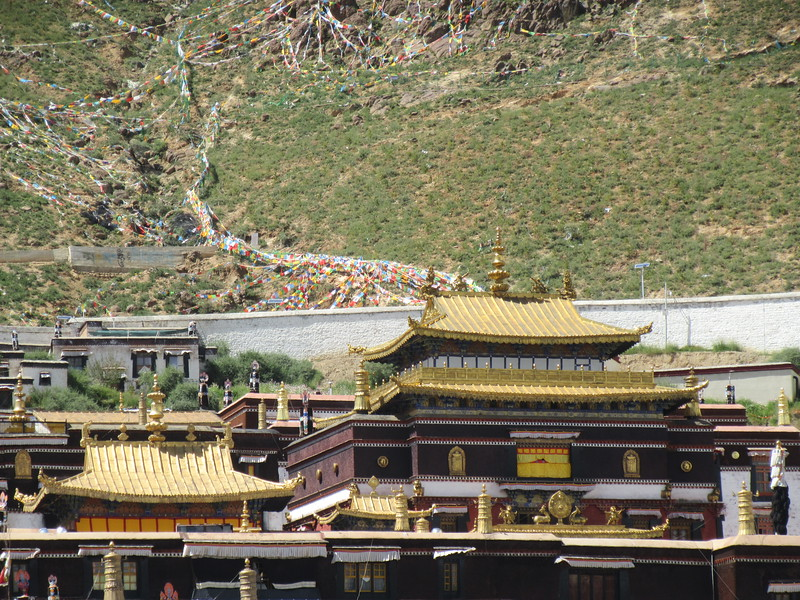 370_Shigatse  Tashilhumpo Gompa  Contains over 60 chapels containing precious cultural relics