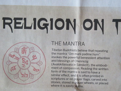 014_Tibet  Religion  The Mantra