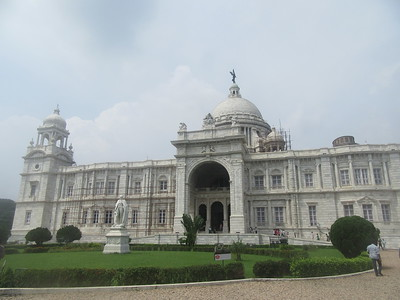 096_Central Kolkata  Victoria Memorial Hall Museum  It combines elements of European and Indian architecture