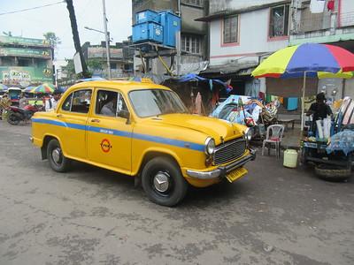 058_Southern Kolkata  A cab  Ambassador Classic model (brand new, same old design)