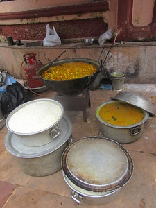 069_Southern Kolkata  Kalighat District  Near the Kali Temple