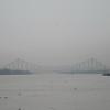 075_Kolkata  BBD Bagh  The Howrah Bridge (1943) over the Hoogli River  Said to be the busiest bridge in the world