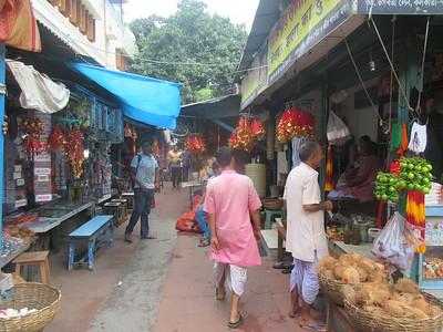 063_Southern Kolkata  Kalighat District  Near the Kali Temple