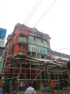 072_Southern Kolkata  Kalighat District  Steeped in history, but drenched in contempory issues